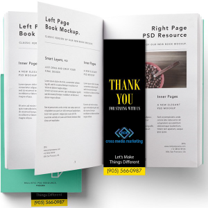 Bookmark printing in Mississauga
