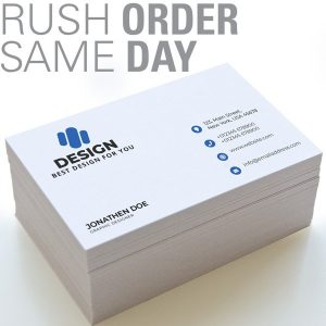printing store in mississauga. Same day business cards printing